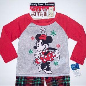 Disney Minnie Mouse Christmas pajamas